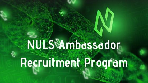 NULS大使全球招募计划开启