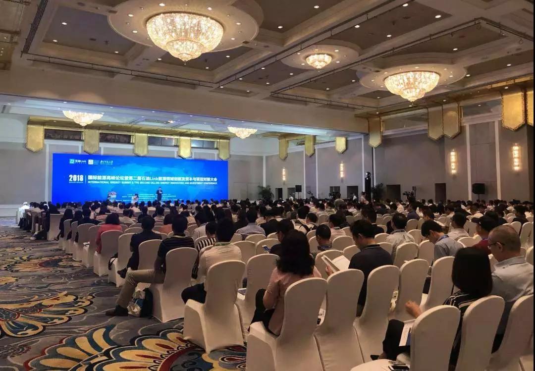 DDN亮相2018年国际能源高峰论坛