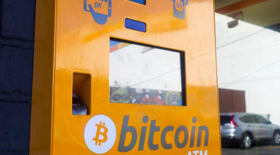 目前全球比特币ATM已超过3500台