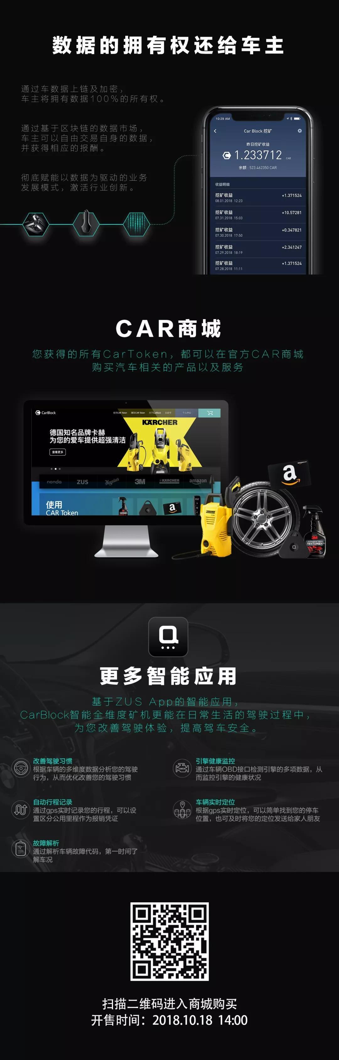 官宣:CarBlock矿机即将发售(*¯︶¯*)