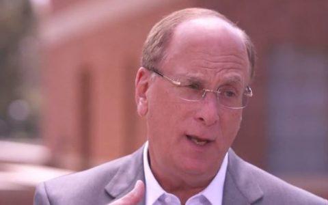 "BlackRock首席执行官Larry Fink:不会在加密货币""合法""前推出比特币ETF"
