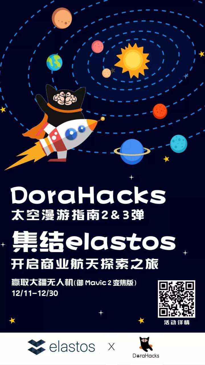 将你与Elastos的记忆送上太空,我们是认真的!!!