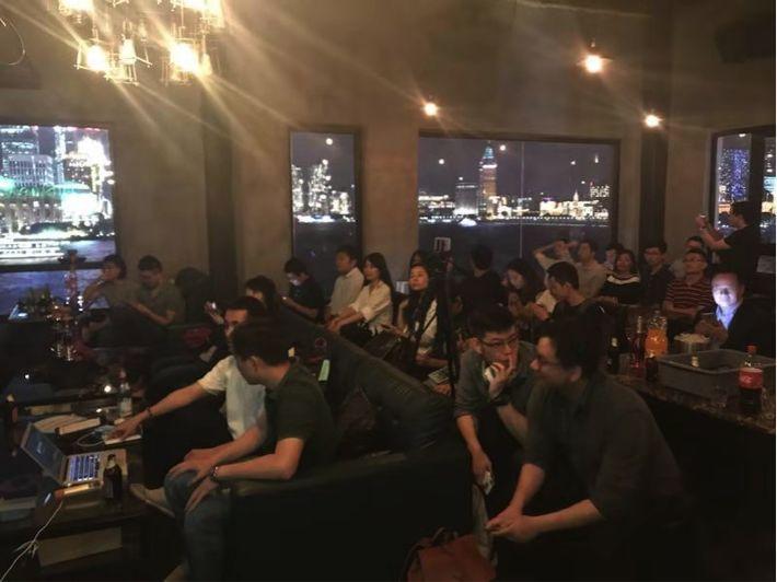 快来围观-硅谷创业极客江景party
