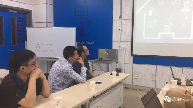 思科前副总裁袁惠良与亦来云团队进行会晤