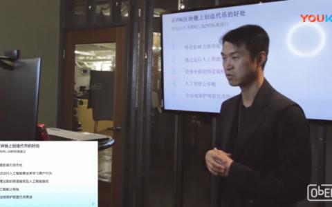 Project PAI 国内路演视频