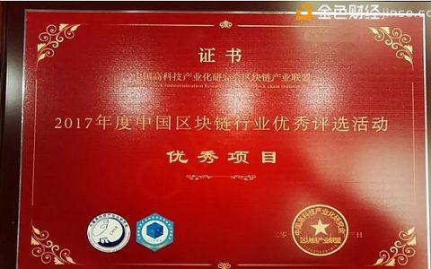 Nuls区块链与合作伙伴印链科技双响炮-斩获2017年度中国区块链两项大奖