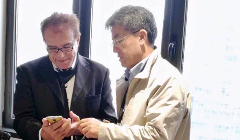 一家英国娱乐公司拜访亦来云上海办公室