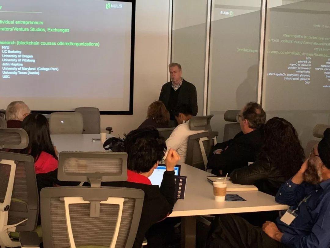 硅谷|NULS美国负责人David成功举办第一次硅谷开发者研讨会,NULS海外社区建设更进一步
