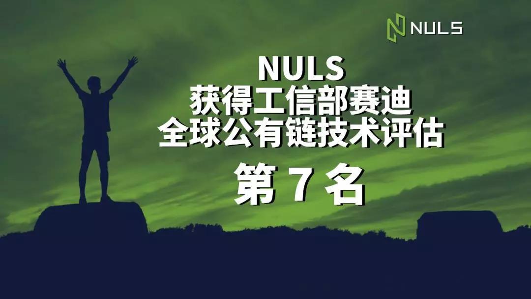 【工信部赛迪研究院】NULS纳世链喜评全球公有链技术评估第七名