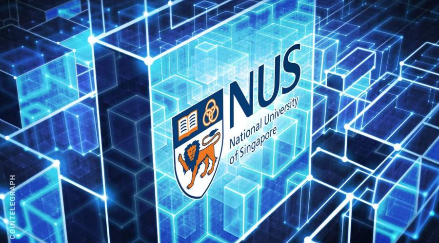 新加坡国立大学联手中国科技公司进行区块链研究
