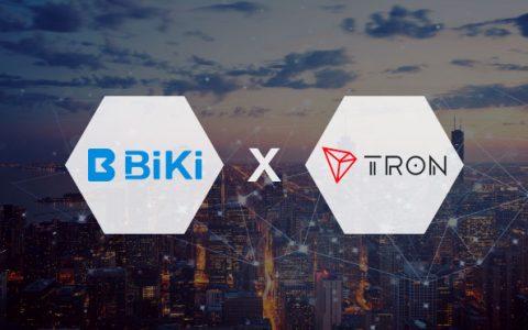 BiKi.com与波场深度合作, 共建波场新生态