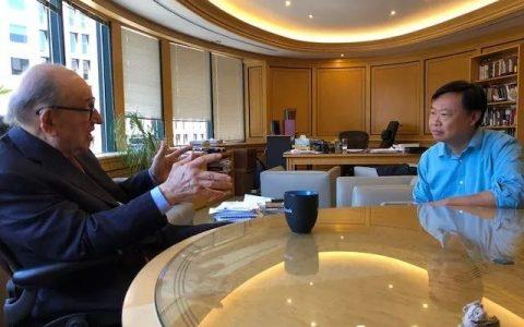 韩锋对话格林斯潘:比特币是全球自由市场对于货币发行金本位缺失的反制