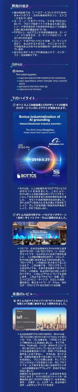 铂链进度周报(2019.5.11-5.17)