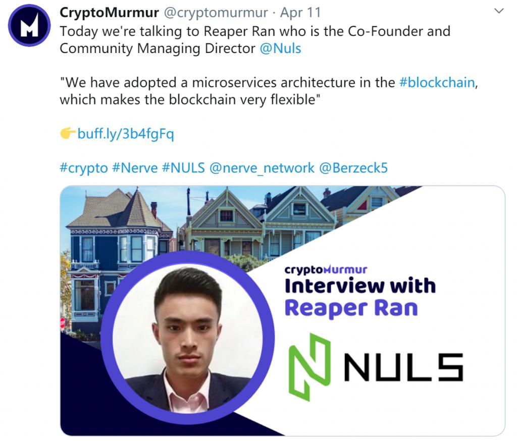 NULS社区第二季度大使竞选结果揭晓|NULS项目4月上半月进度简报-NULS一个可定制的区块链基础设施!