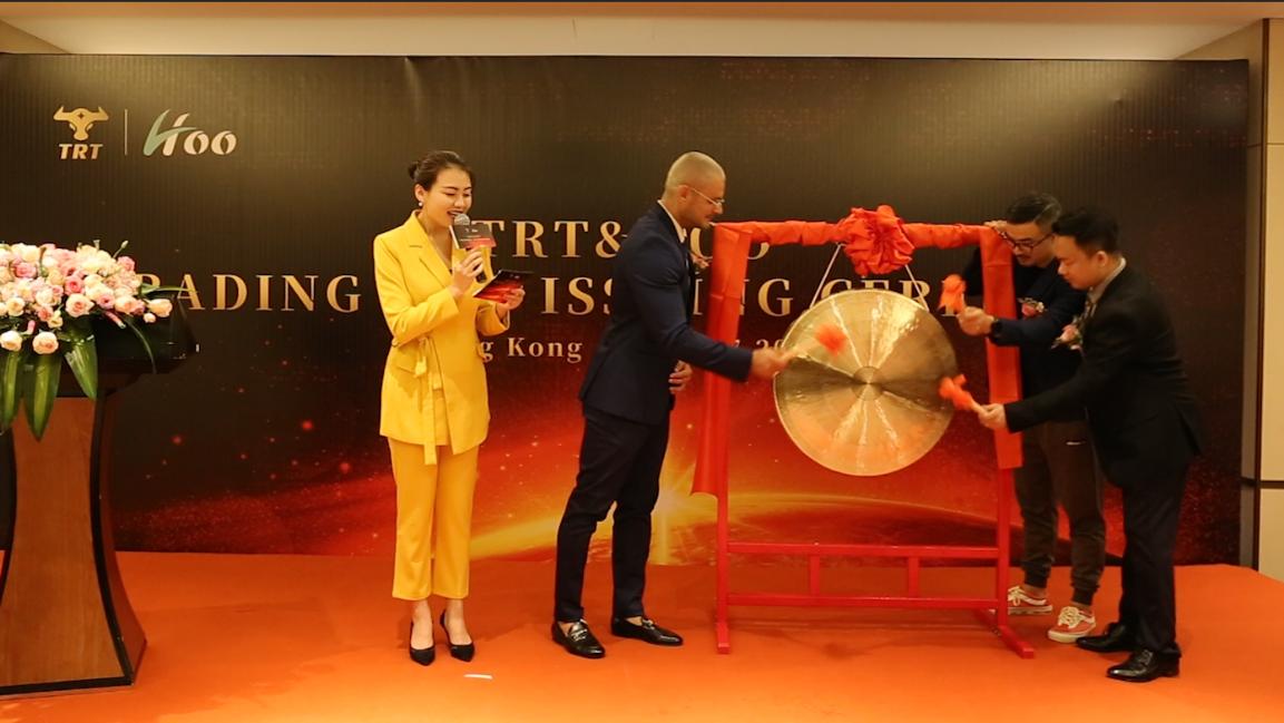 TRT正式上线交易!重构全球黄金珠宝产业生态!