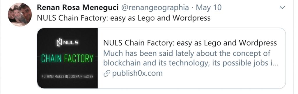 NULS项目5月上半月进度简报