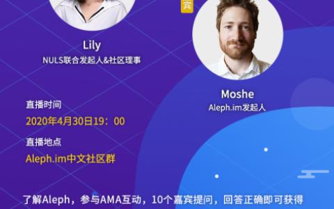 AMA:ALEPH(分布式的数字身份存储网络), 最新项目进展与规划