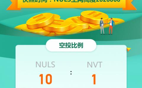 关于火火钱包支持NULS主网跨链资产NVT空投的公告