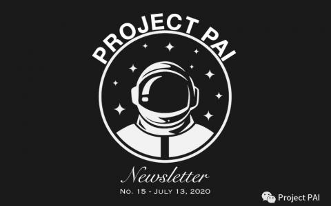 Project PAI 项目进度- 2020年7月13日