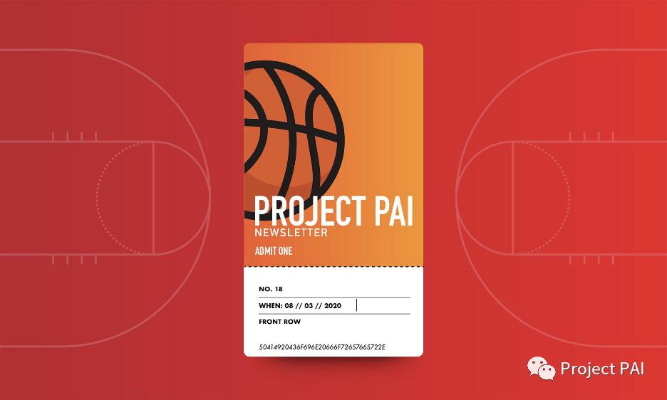 Project PAI 项目进度- 2020年8月3日