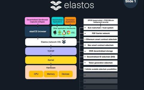 从亦来云创始人陈榕推特了解 Elastos:赋予个人权利与共识的建立