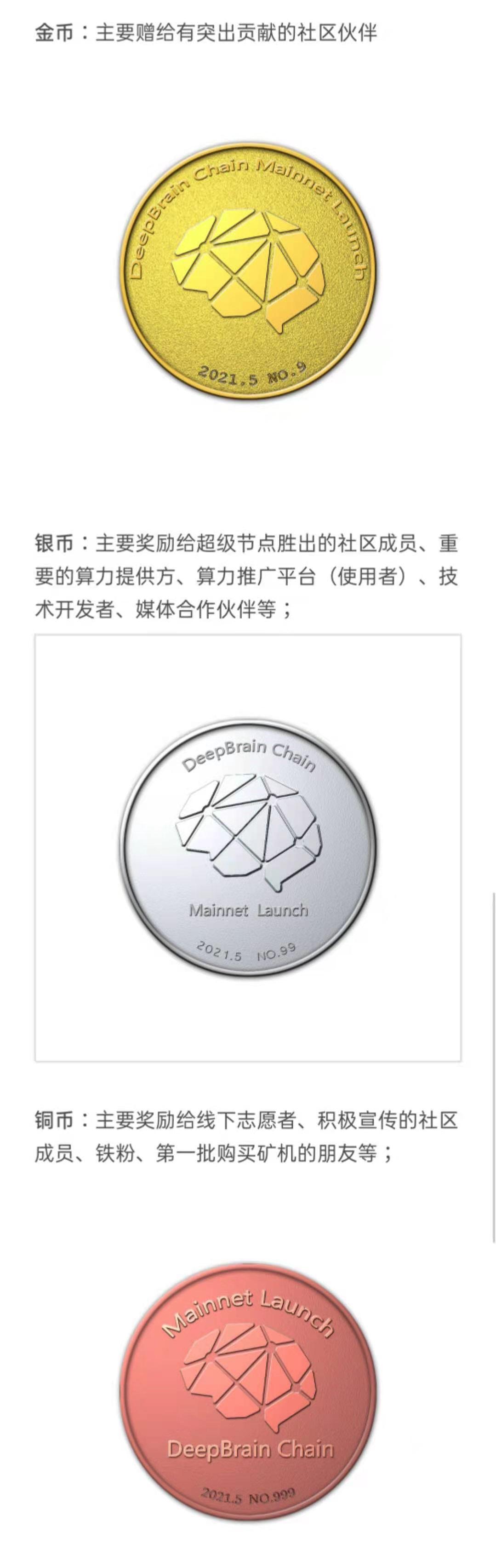 为迎接主网上线,深脑链(DBC)铸造NFT纪念币免费赠予社区