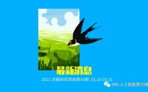 深脑链双周报第85期(03.16-03.31)