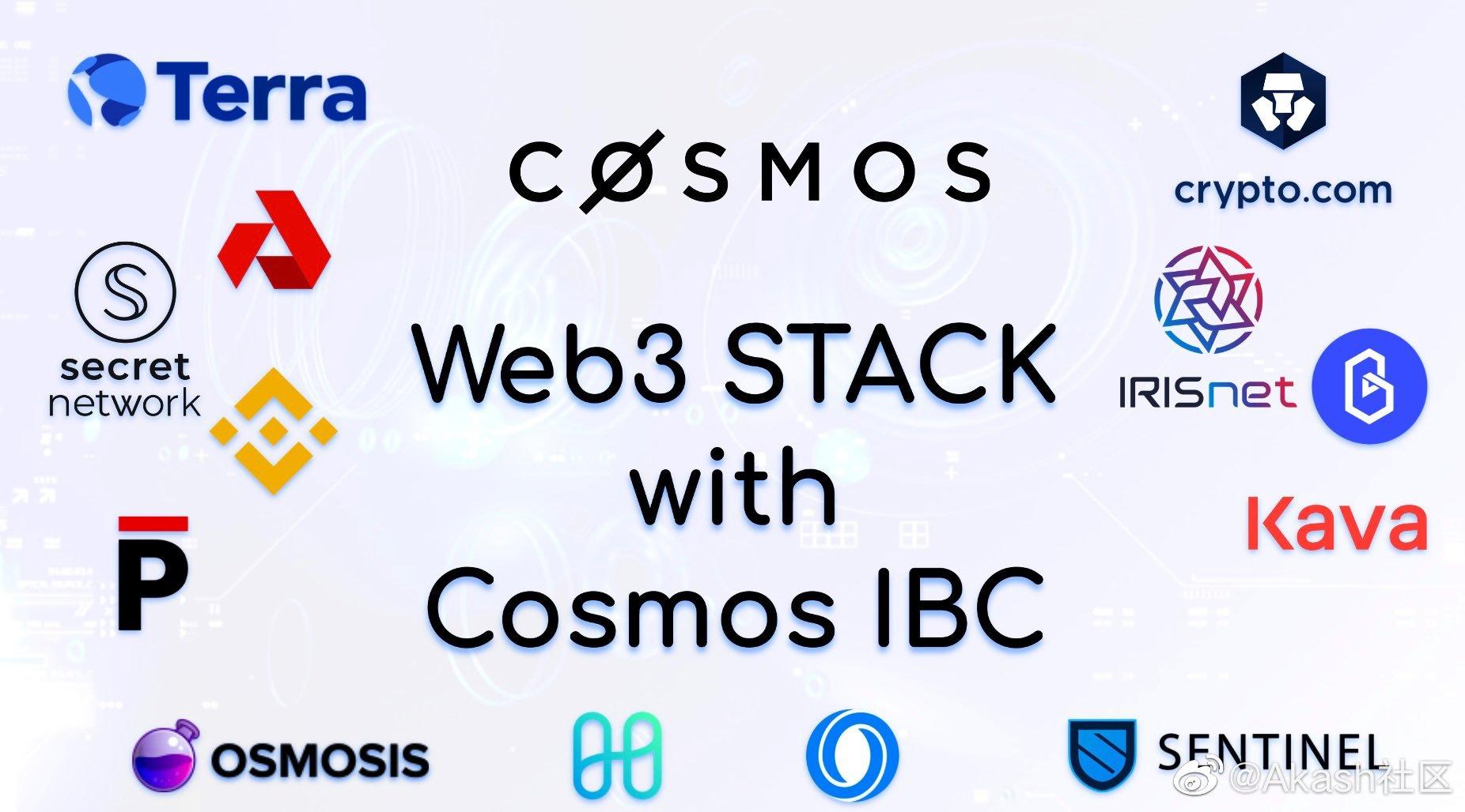 Cosmos生态构建的Web3生态初现端倪!