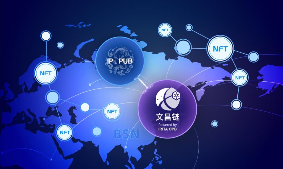「文昌链 IRITA OPB」运用前沿 NFT 技术,助力 IP.PUB 推动中国传