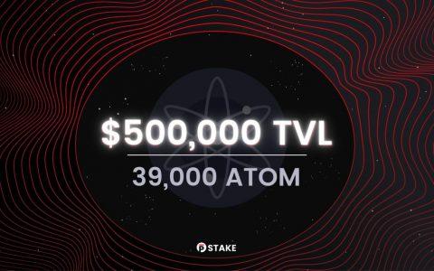 Persistence 上天了!pSTAKE的总锁仓量(TVL)飙升超过了50万美元!