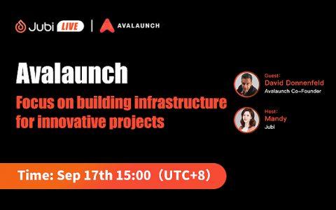 聚币Jubi LIVE Avalaunch-专注于为创新项目建立基础设施