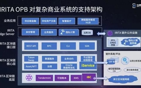 演讲实录 | 区块链+大数据隐私保护,「文昌链 IRITA OPB」支持创新应用与产业发展
